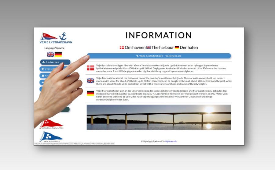 Sitekiosk - Kiosk PC - Infoskærm