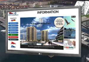 SiteKiosk på Vejle Havn