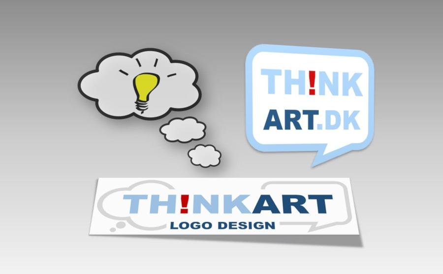 Thinkart.dk - Logo design